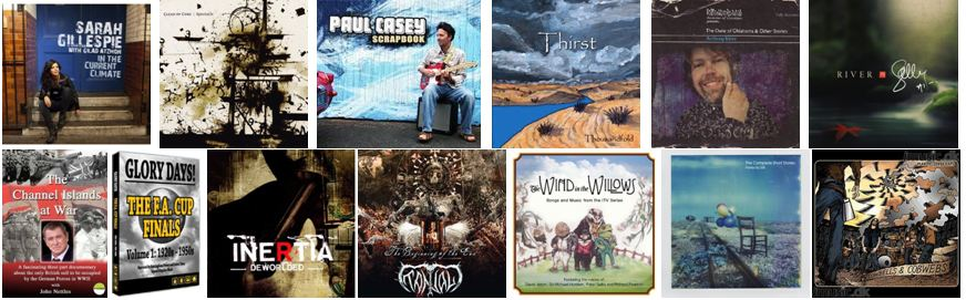 Examples of CDs that are using our barcodes